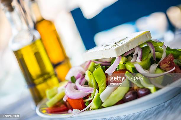 Greek salad, close-up
