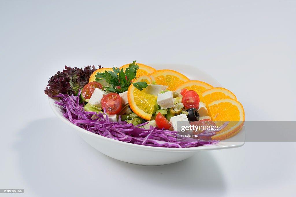 Salada Grega : Foto de stock