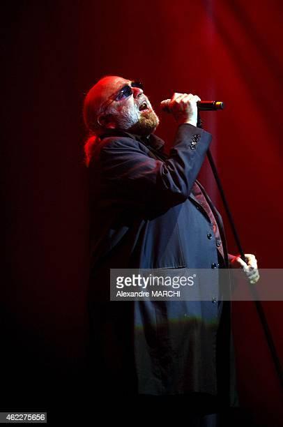 Greek singer Demis Roussos singing at 'Age tendre et tete de bois' show in Nancy France on May 12 2006