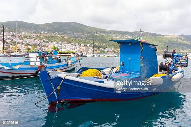 Greek style fishing boat (kaiki).