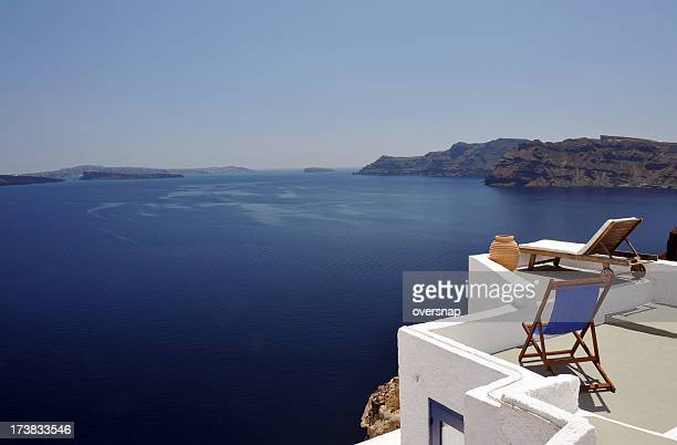 Greek sunbeds