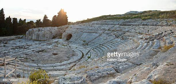Greek Theatre of Syracuse, panoramic image