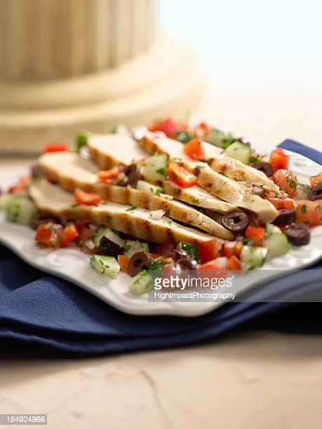 Salade grecque à la Turquie