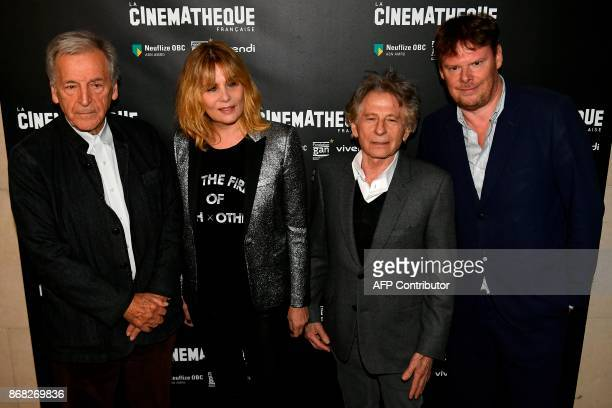 GreekFrench director and producer CostaGavras French actress Emmanuelle Seigner FrenchPolish director Roman Polanski and Cinematheque's general...