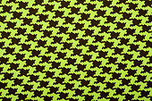 Dogstooth check design as background.