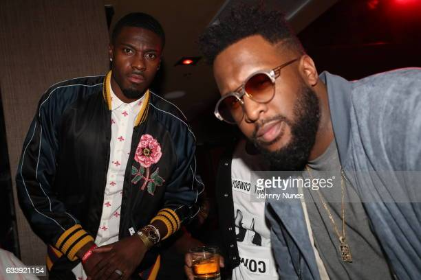 Green and Host Lance Fresh during Migos And DJ Spade At 1 OAK Houston at 1 OAK on February 4 2017 in Houston Texas