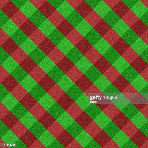 green and red plaid seamless glitter