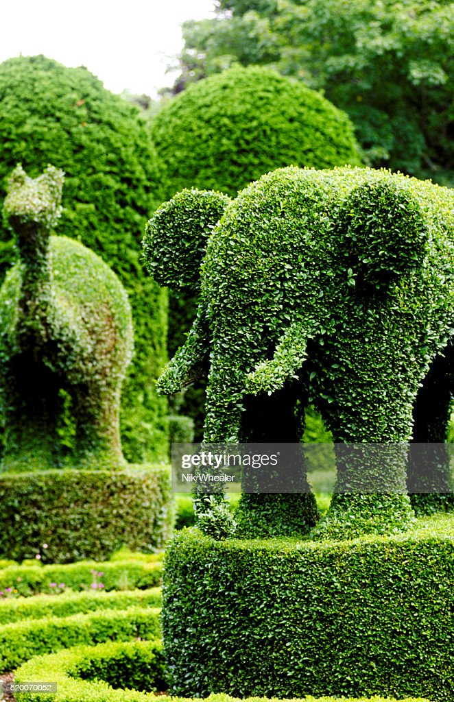 Green Animals Topiary Garden In Portsmouth Rhode Island Stock Photo Getty Images
