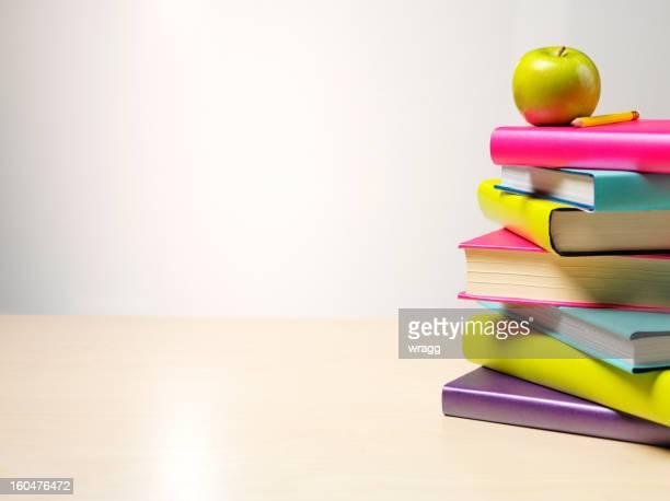 グリーンアップルの 1 スタックの書籍