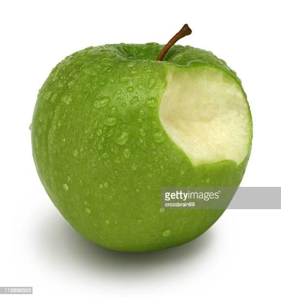 Green apple con perros