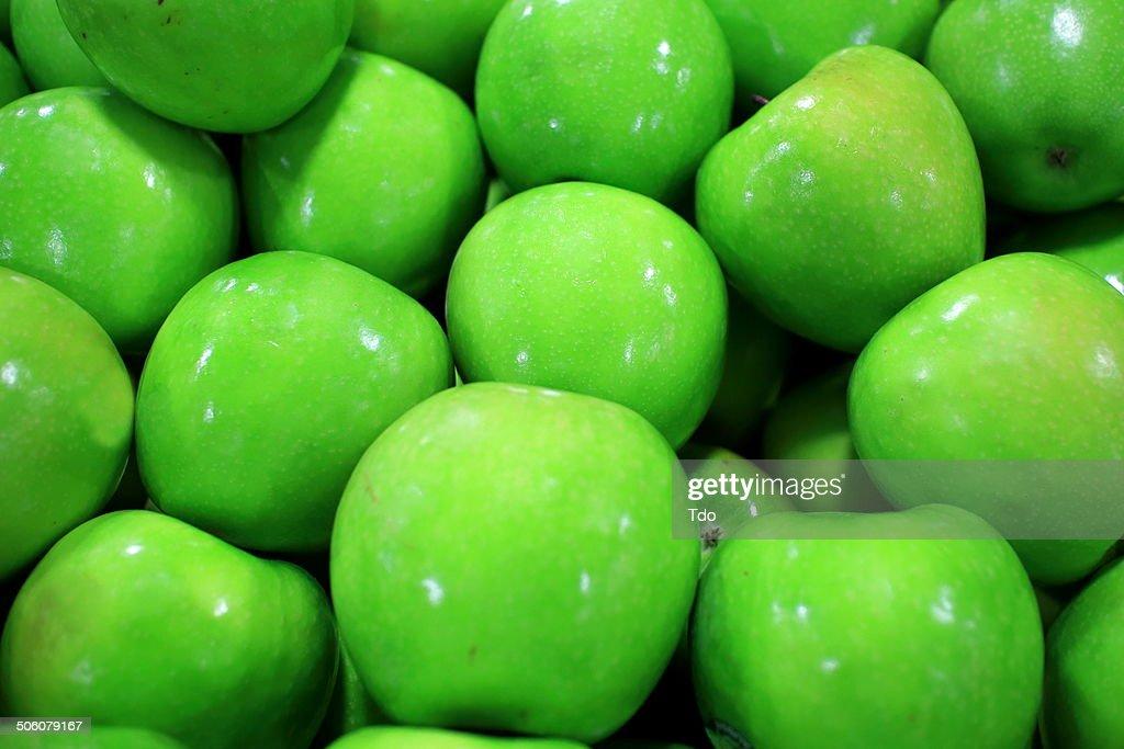 Green Apples : Stock Photo