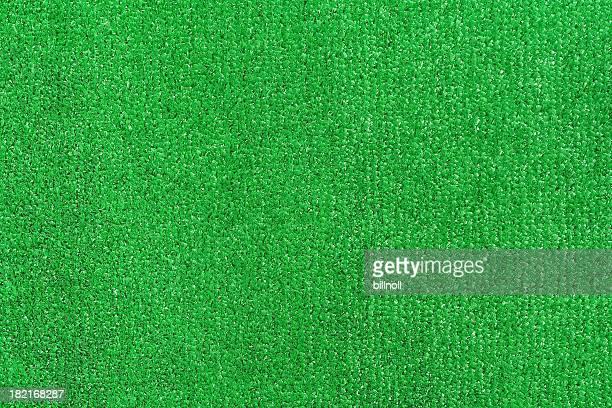 Green artifical turf
