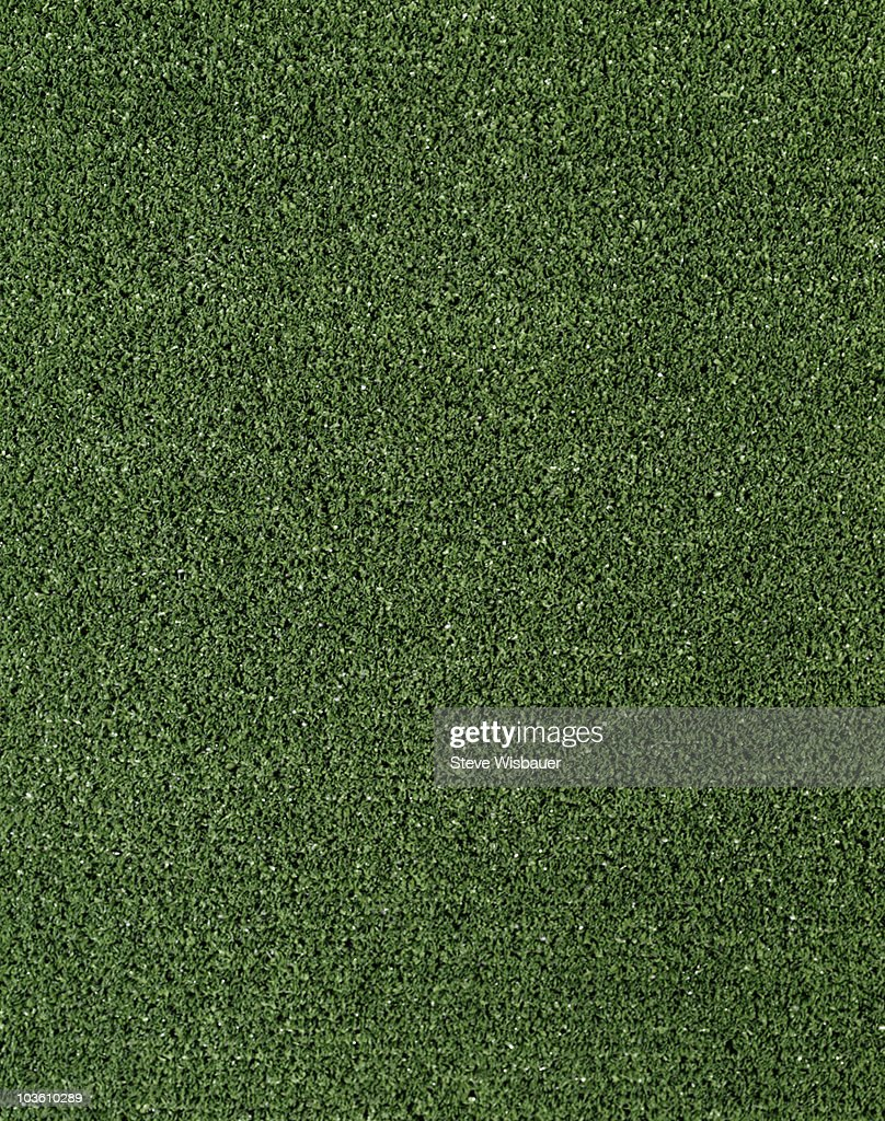 Green artificial  turf