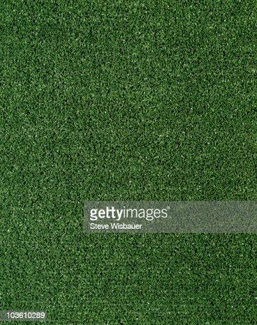 Green artificial  turf : Stock Photo