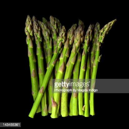 Green asparagus : Stock Photo