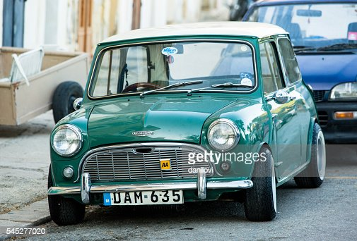 austin mini cooper photos et images de collection getty images. Black Bedroom Furniture Sets. Home Design Ideas