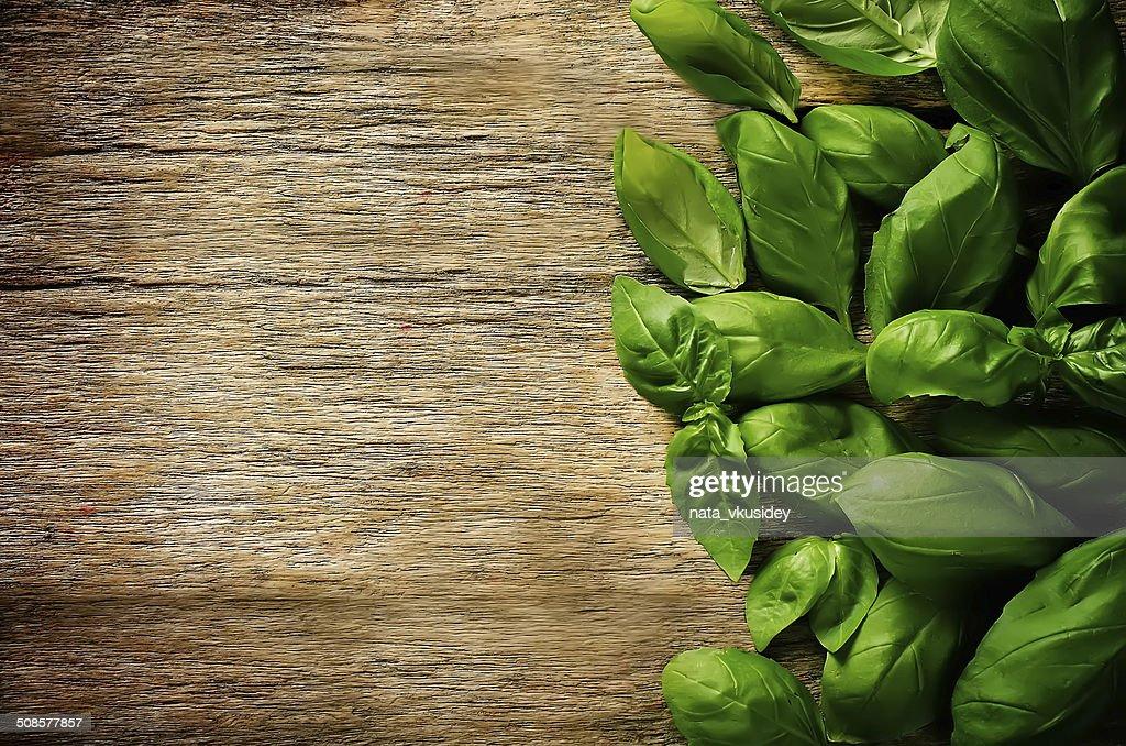 Verde Basilico : Foto stock
