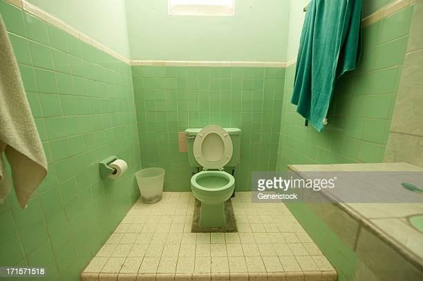 Grüne Badezimmer