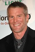 Green Bay Packers quarterback Brett Favre attends the Sports Illustrated Sportsman of The Year Party 2007 at Skylight Studios December 4 2007 in New...
