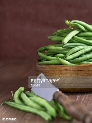 Gr?ne Bohnen : Stock Photo
