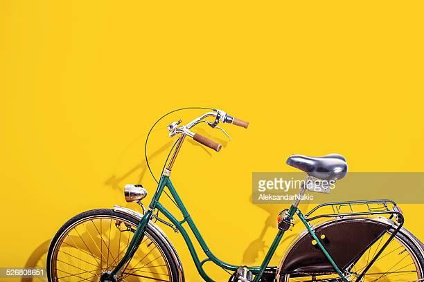 Grünen Fahrrad