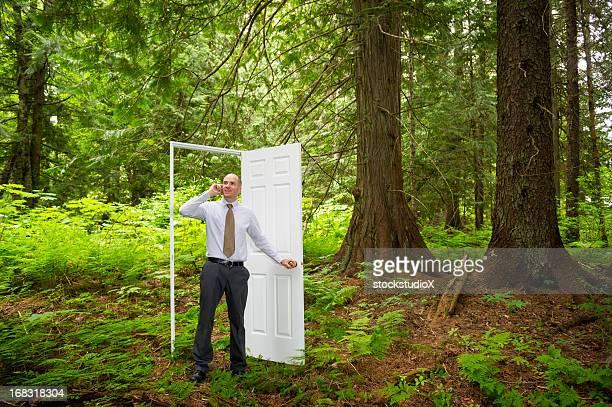 Green Businessman