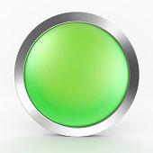 Green Button Icon