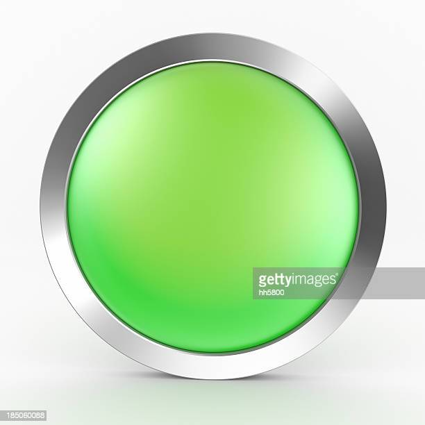 Green Button Icon