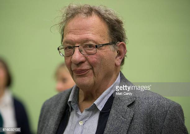 Green candidate Larry Sanders at the Windrush Leisure Centre on October 21 2016 in Witney England The byelection in Witney Oxfordshire was prompted...