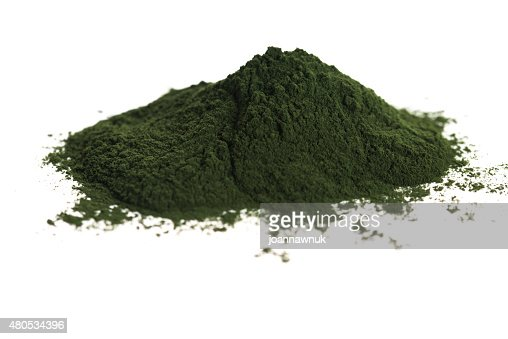 Green chlorella : Stock Photo