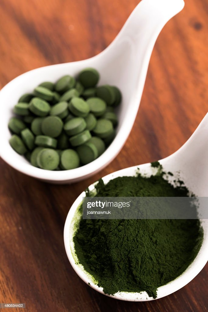 Green chlorella : Stockfoto