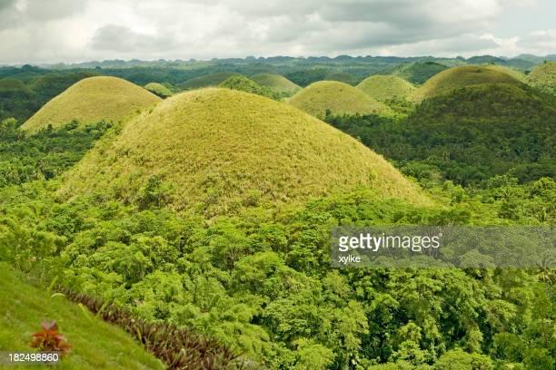 Green Chocolate Hills of Bohol