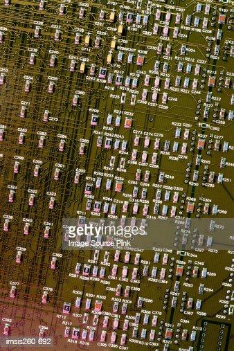 Green circuit board : Stock-Foto