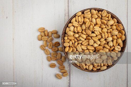 green coffee beans : Stock Photo