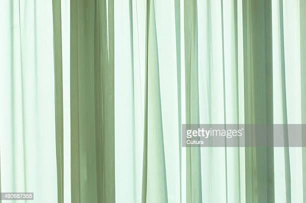 Green curtain, Marrakech, Morocco