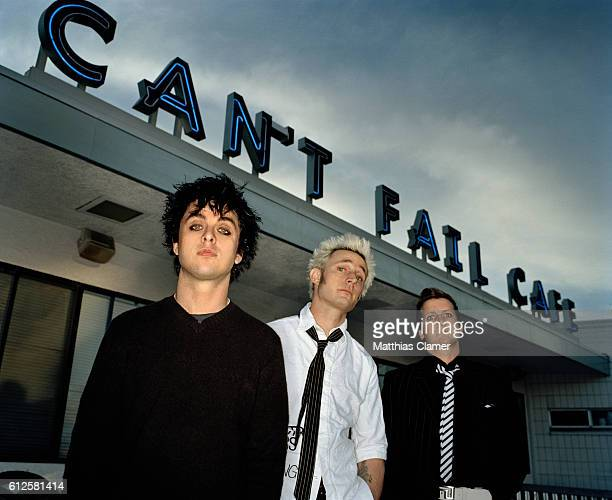 Green Day hanging out at the Mike Dirntowned Rudy's Can't Fail Cafe