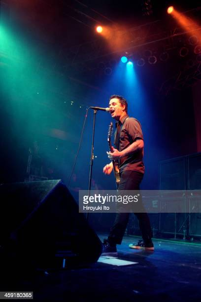 Green Day performing at Roseland on Wednesday night October 4 2000This imageBillie Joe Armstrong