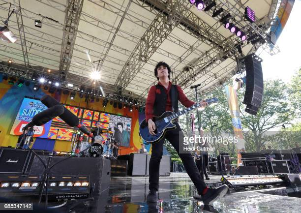 AMERICA Green Day performs live as part of the GMA Summer Concert Series on 'Good Morning America' Friday May 19 airing on the ABC Television Network...