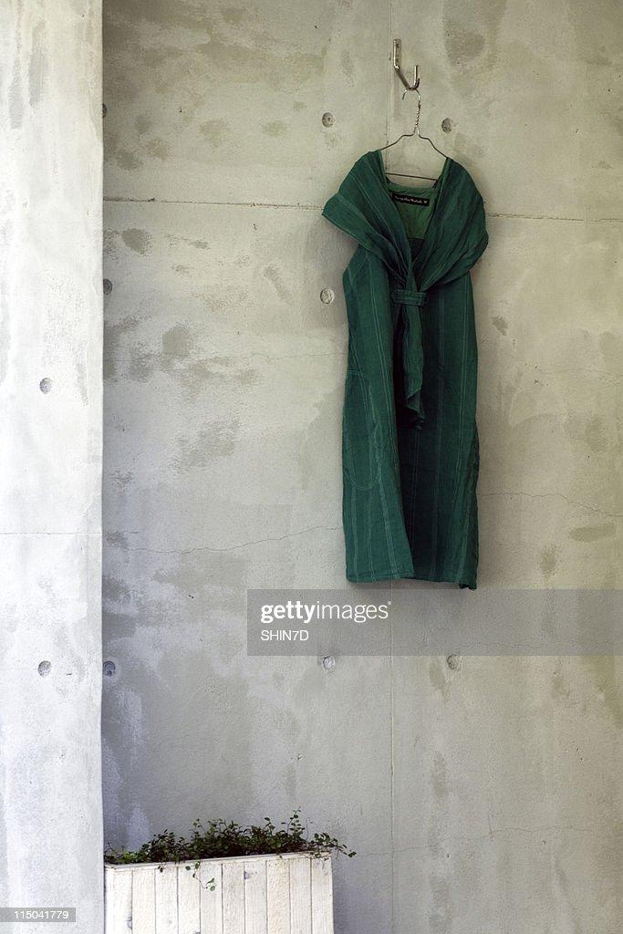 Green Dress : Stock Photo