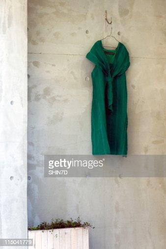 Green Dress : ストックフォト
