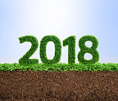2018 is a good year for growth in environmental business. Grass growing in the shape of year 2108.