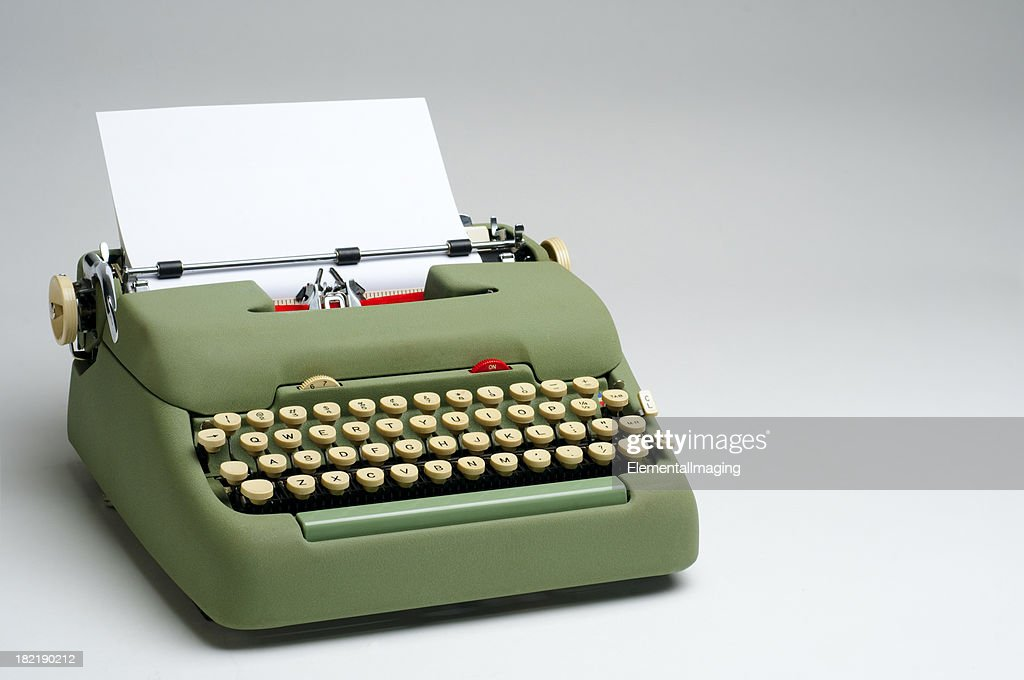 Image result for electric typewriter  getty images