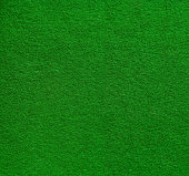 High resolution green felt surface