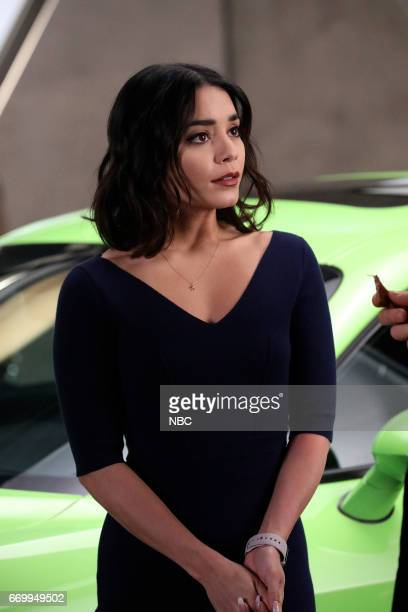 POWERLESS 'Green Furious' Episode 111 Pictured Vanessa Hudgens as Emily