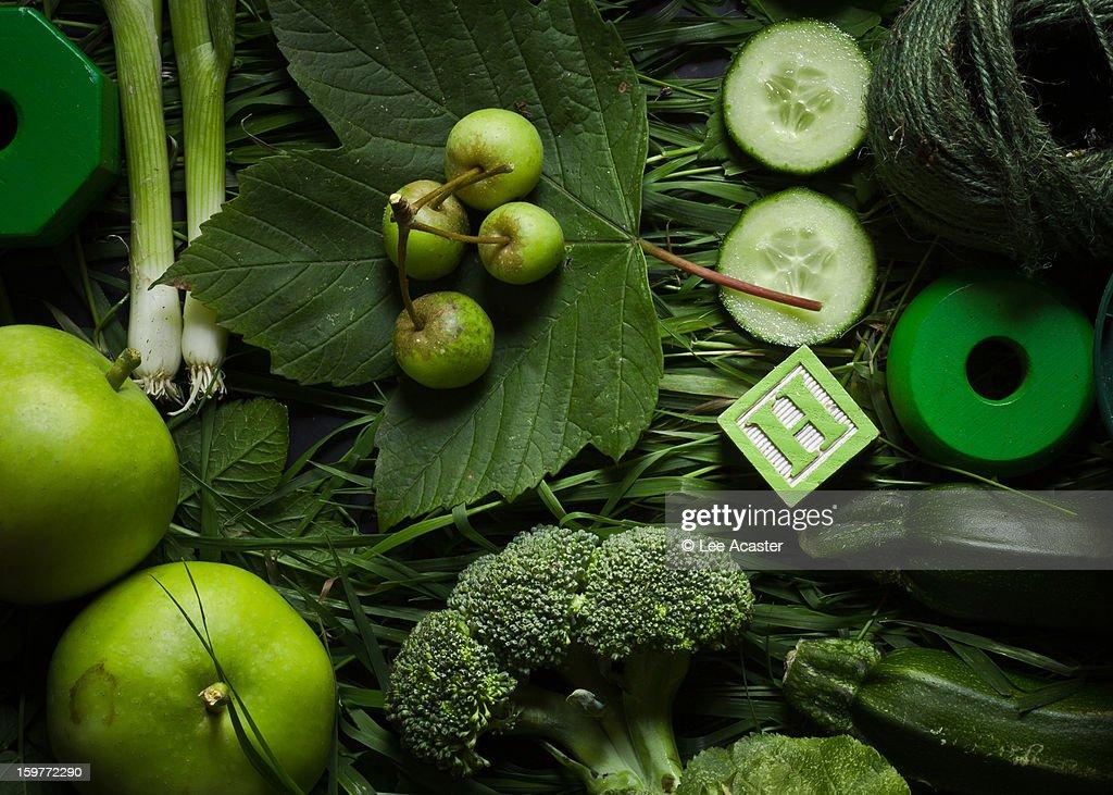 Green Green Green : Stock Photo