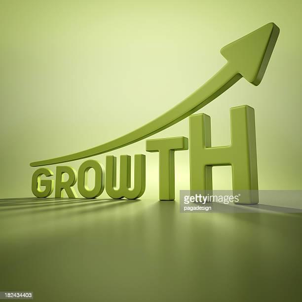 green growth graph studio