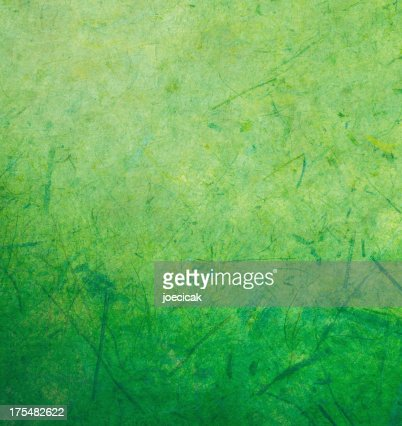 Green Handmade Paper Background