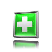 Green Icon - Plus