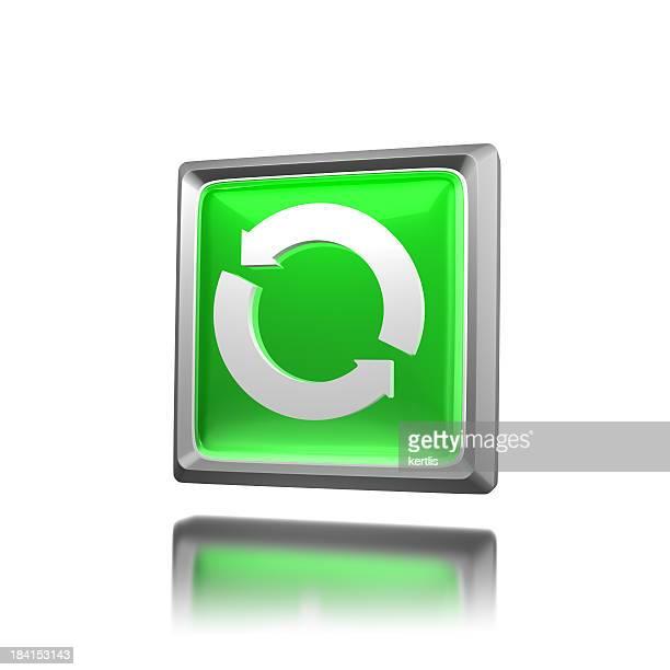 Grünes Symbol-Update