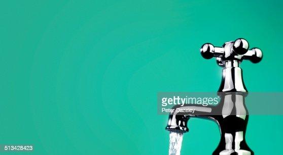 Green issue/running tap